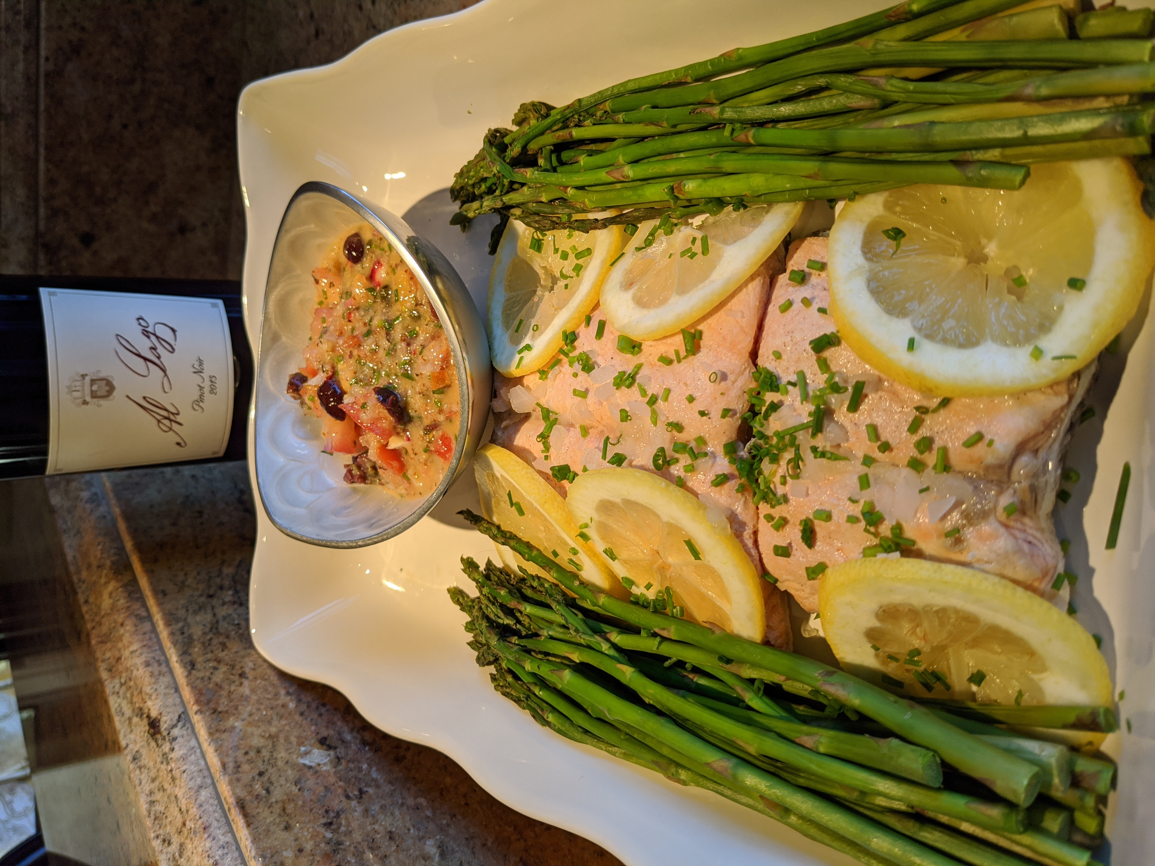 Atlantic Salmon Fillet Poached recipe image