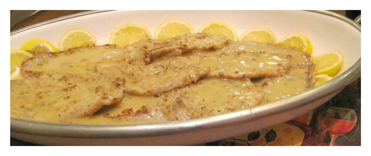 Veal Piccata recipe image